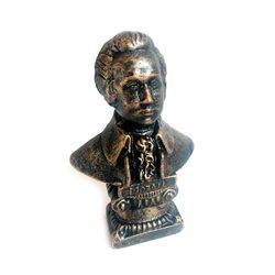 Бюст Моцарта (малый) под бронзу
