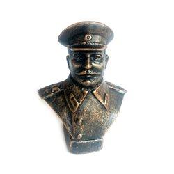 Бюст Сталина мал под бронзу